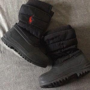 Boys polo snow boots